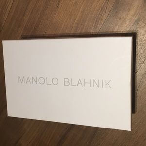 Manolo Blahnik shoe box